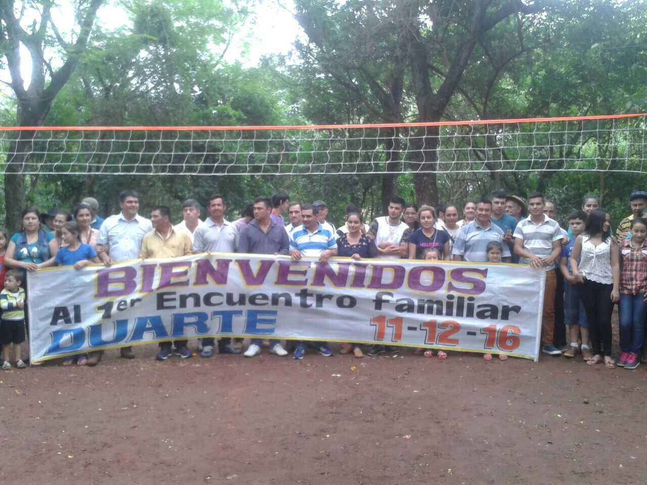Emotivo encuentro familiar en Blas A. Garay